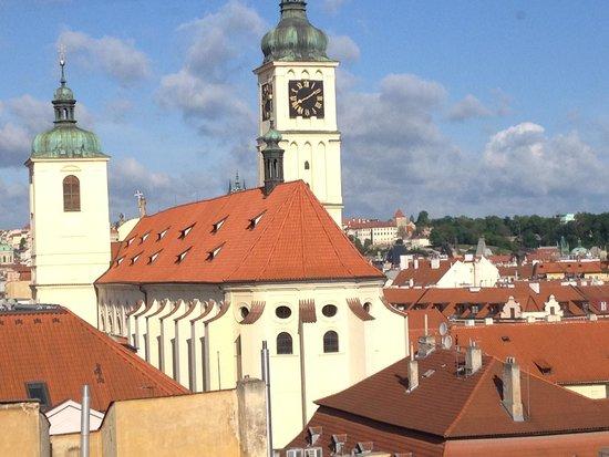 Hotel Paris Prague: 5階の部屋からの眺め