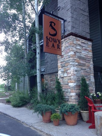 Sow's Ear Dinner & Libations