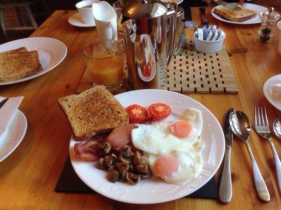 Holly Cottage B&B: Sarah's wonderful breakfast