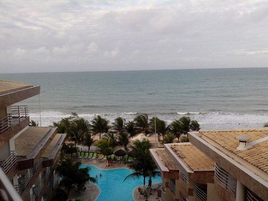 Esmeralda Praia Hotel: Vista Superior do quarto