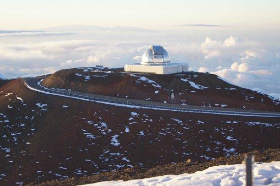 Observatory on Mauna Kea Summit
