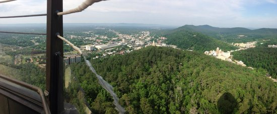 Hot Springs Mountain Tower: Awesome view1