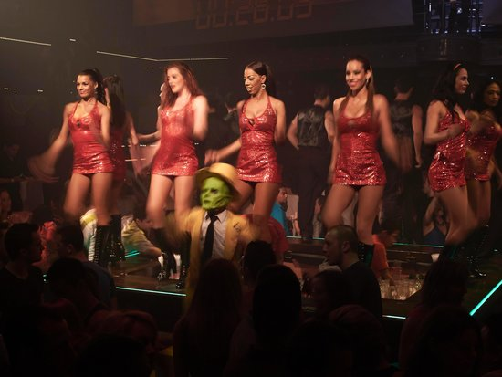 Coco Bongo Playa del Carmen: Table Dancing