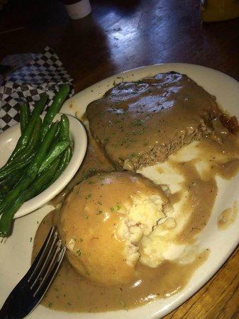 Maverick's Grille: Wild Bill's Game Meatloaf