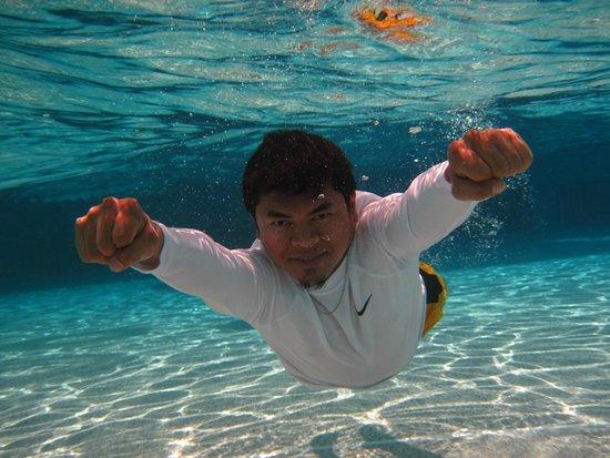 Yas Waterworld Abu Dhabi: underwater photo