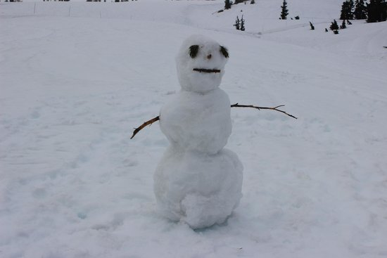 Timberline Lodge: OLAF -  you get to built your own snowman.