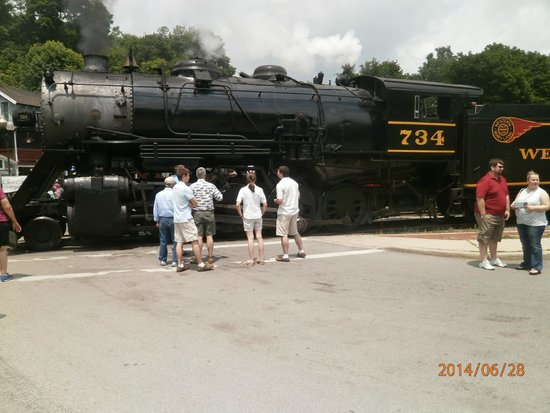 "Western Maryland Scenic Railroad: They call her ""Mountain Thunder"""