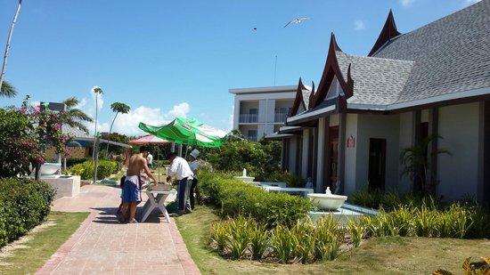 Hotel Playa Cayo Santa Maria: El puerquito del día cubano. Una delicia