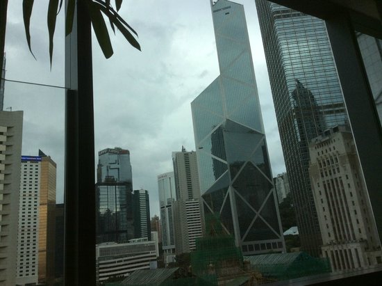 Mandarin Oriental, Hong Kong: view from the room