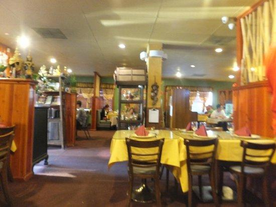 Orchids Authentic Thai Food: Interior of the restaurant