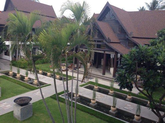 Amari Koh Samui: Mooie ingang, tuin goed onderhouden
