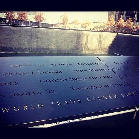 Memorial del 11S: Memorial