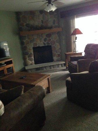 Wild Eagle Lodge: Living room