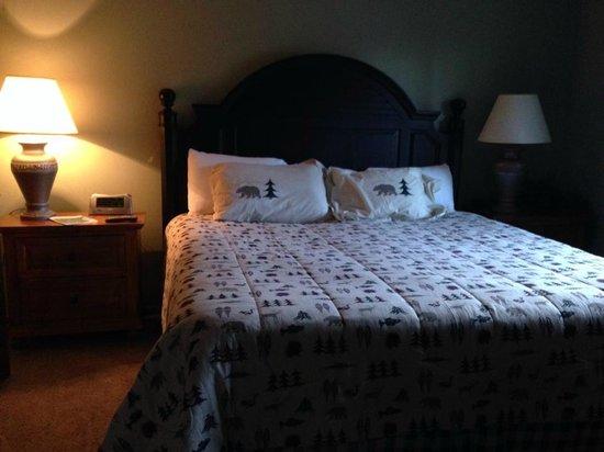 Wild Eagle Lodge: Bedroom