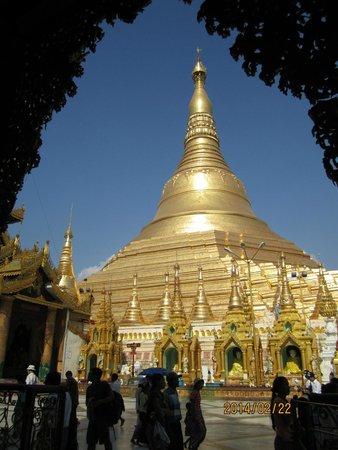 Pagode Shwedagon : The Shwedagon