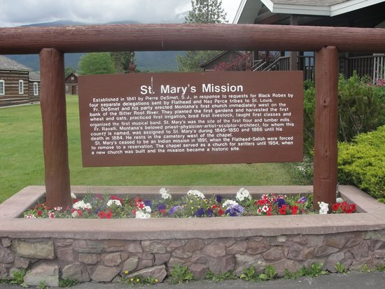 St. Mary's Mission: Historical site