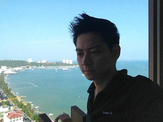 Hilton Pattaya: วิวทะเลจากห้องพัก