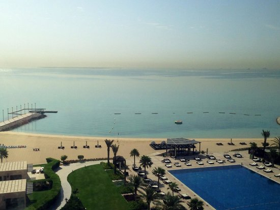 The St. Regis Doha: Great view from our room