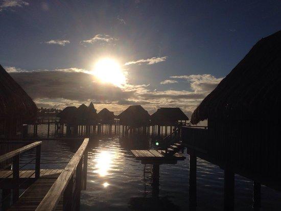 Sofitel Moorea Ia Ora Beach Resort : Alba...