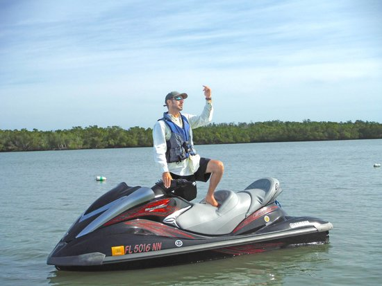 Capt. Ron's Awesome Everglades Adventures : Avi, our tour guide