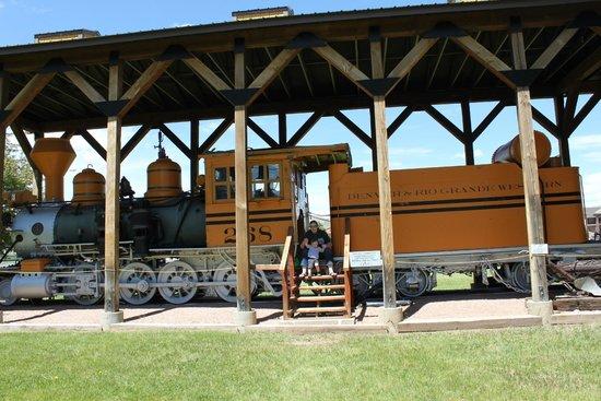 Gunnison Pioneer Museum : CHOO CHOO!
