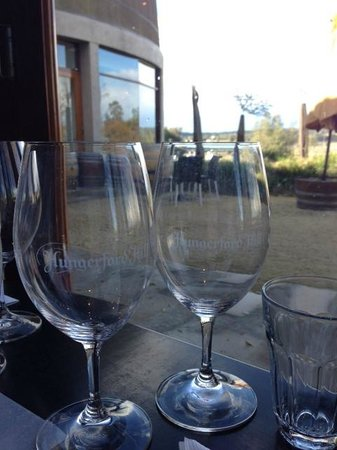 Hungerford Hill Wines: The lovely view