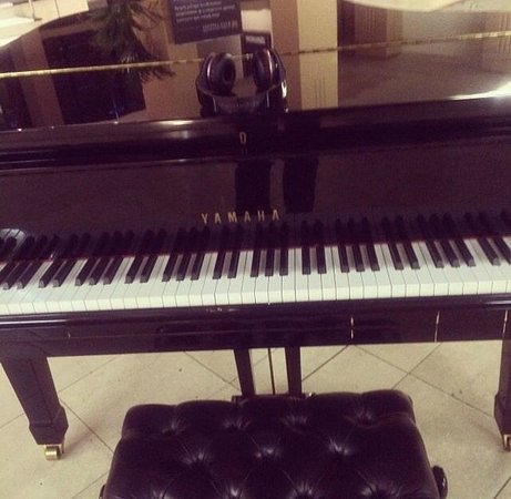 Copthorne Hotel Newcastle: Piano In The Lobby