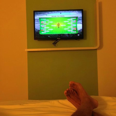 Ibis Styles KL Cheras: During the World cup match. It was great that Ibis had world cup channel. Kudos.