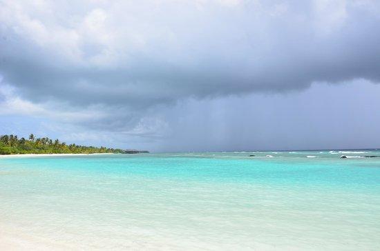 Kuredu Island Resort & Spa: Обратная сторона острова