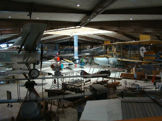 Pensacola Naval Air Station: One of the rooms in the museum
