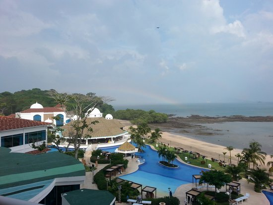 The Westin Playa Bonita Panama: the view from our balcony