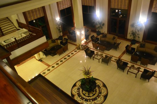 Earl's Regency : Lobby view from the 1st Floor...