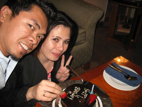 Al Raha Beach Hotel : happy birthday