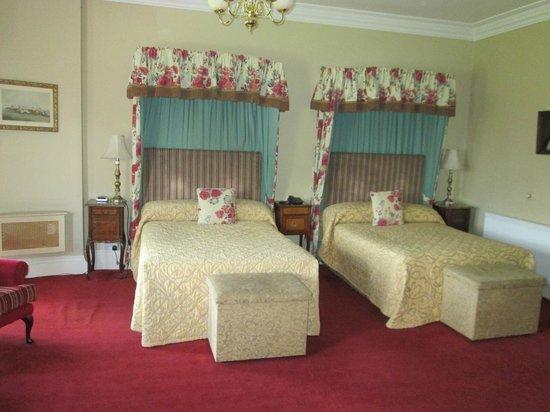Ballyseede Castle: Our Room