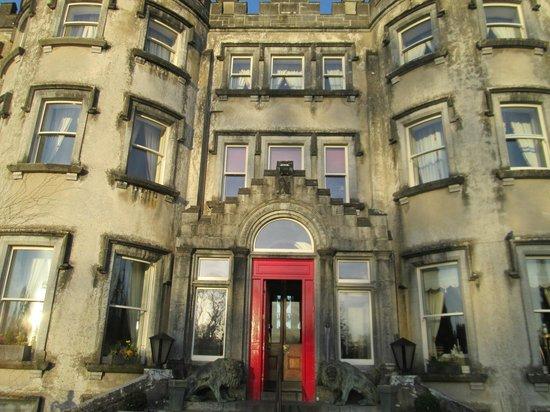 Ballyseede Castle : The main entry