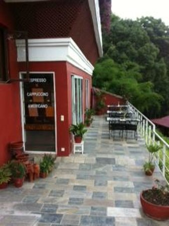 Dhulikhel Lodge Resort : Coffe shop