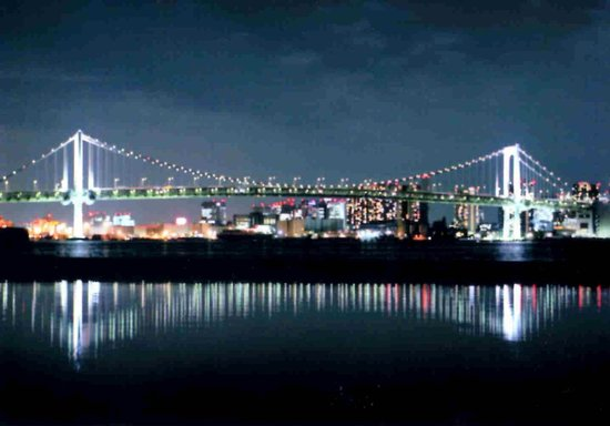 Harumi Wharf: レインボーブリッジが美しい