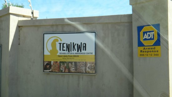 Tenikwa Wildlife Awareness Centre: entrada