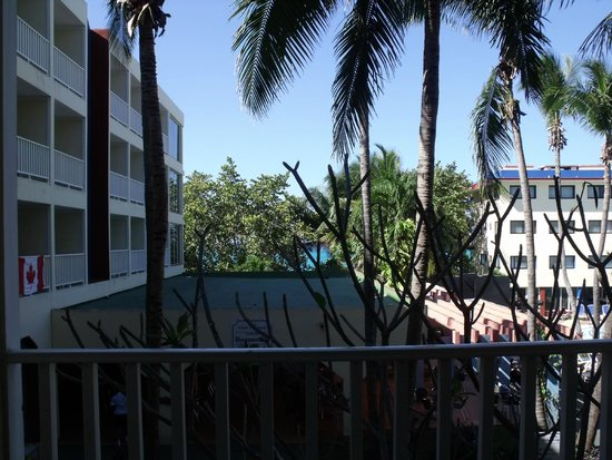 Club Tropical: View from room