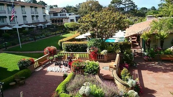 La Playa Carmel: Gardens at rear