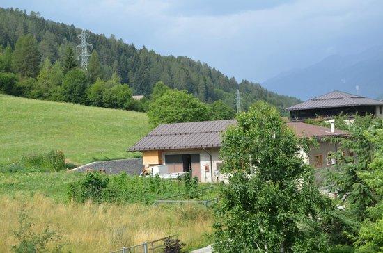 Tevini - Dolomites Charming Hotel: большой балкон