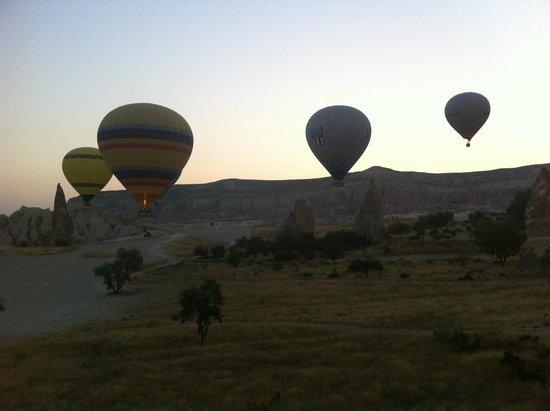 Goreme Balloons: Flying over Goreme