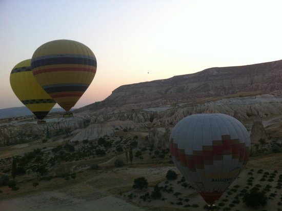 Goreme Balloons: Amazing feeling going up