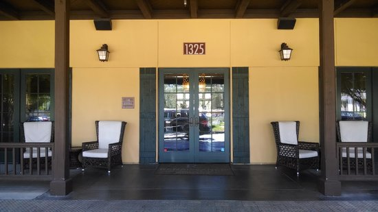 The Lodge at Sonoma Renaissance Resort & Spa: Entrance