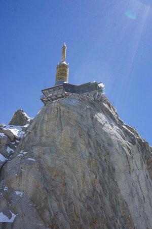 Aiguille du Midi: Pas dans le vide 3842m above sea level