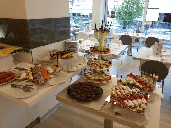 Hotel Fantasy: buffet sucrè