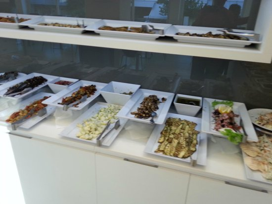 Hotel Fantasy: buffet salé