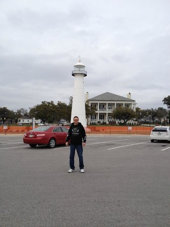 Biloxi Visitors Center: View from across the street