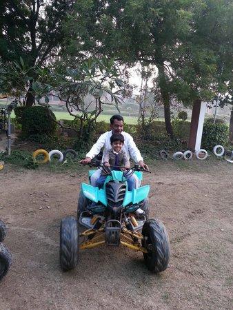 ITC Mughal, Agra : MOTOR BIKE RIDE