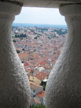 Saint Euphemia Cathedral: 頂上からの風景